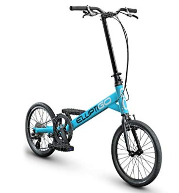 The ElliptiGO SUB outdoor elliptical bike provides great cardio.
