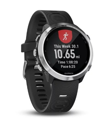 The Garmin Forerunner 645 has a menu that is easy to navigate.