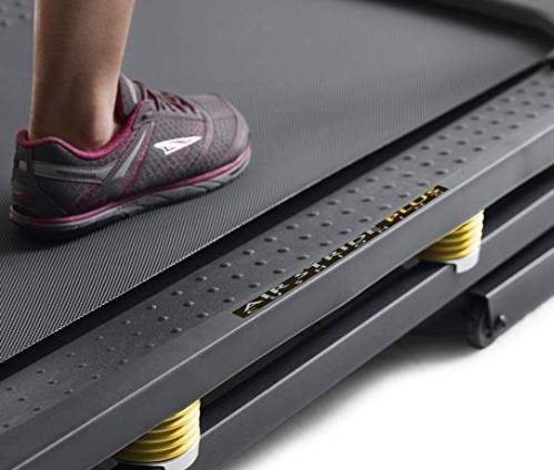 The Gold's Gym 720 Trainer offers push button incline adjustment.