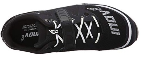 The Inov-8 Fastlift 325 laces securely and has a strap for extra tightness.