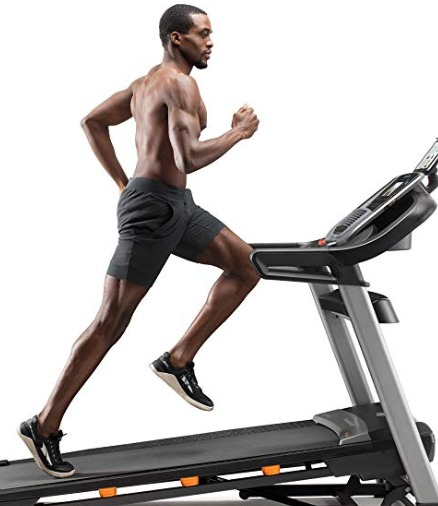 The NordicTrack C 990 treadmill can reach a speed of 12 MPH.