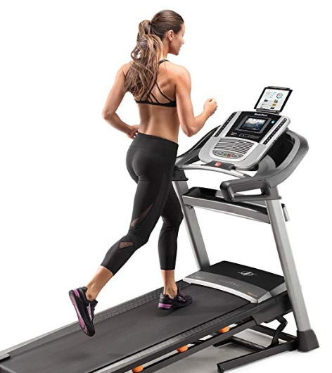 The NordicTrack C 990 treadmill has adjustable run belt cushioning.