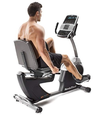 The NordicTrack GX 4.7 R recumbent bike is compatible with iFit.