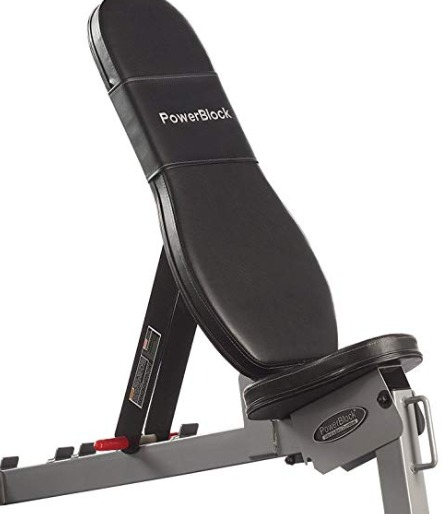 The Powerblock SportBench has several options for incline lifting.