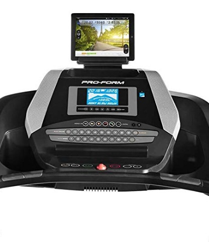 The ProForm 505 CST treadmill has an intuitive display.