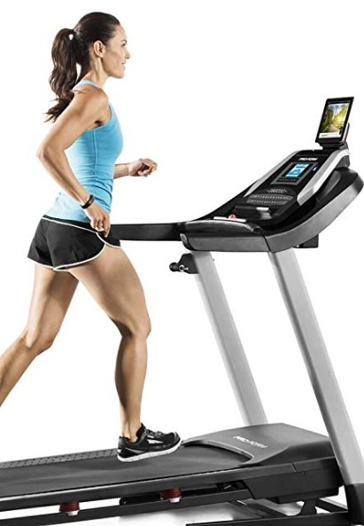 The ProForm 505 CST treadmill has user friendly controls.