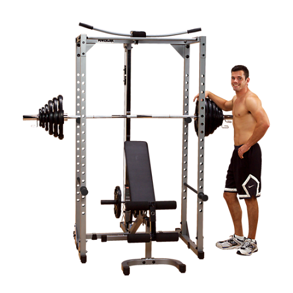 PowerLine PPR200X Power Rack With Bench