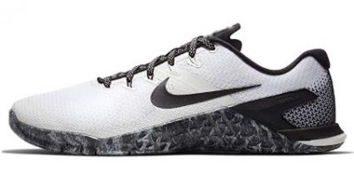 The Nike Metcon 4 offers exceptional stability.