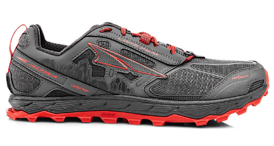 The Altra Lone Peak 4 features quick dry mesh uppers.