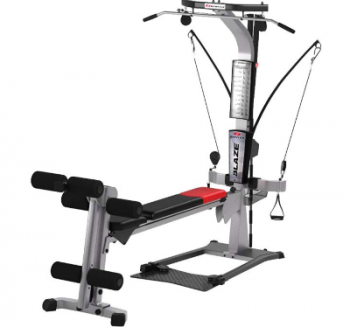 The Bowflex Blaze Home Gym features a rowing seat.