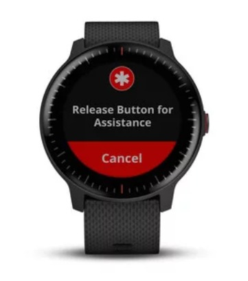 The Garmin Vivoactive 3 can alert loved ones in an emergency situation.