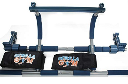 The Gym1 Power Fitness Package comes with ab straps to enhance exercise.