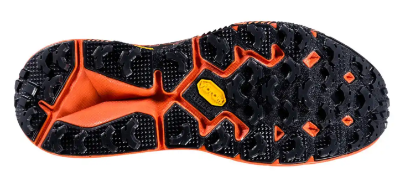 The Hoka Speedgoat 3 trail running shoe features exceptional outsole traction.