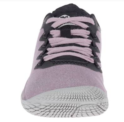 The Merrell Vapor 3 Cotton gives a tight socklike fit.