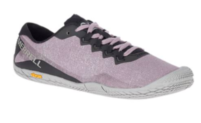 The Merrell Vapor 3 Cotton shoe is a barefoot trainer.