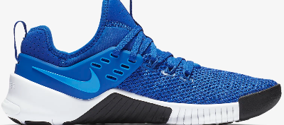The Nike Free X Metcon has lateral wings that ensure tight lacing.