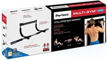The Perfect Fitness Multi Gym Pro comes with a workout guide.