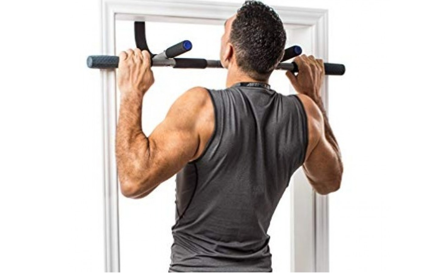 The Perfect Fitness Multi Gym Pro easily fits most doorways.