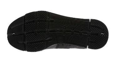 The Reebok Speed TR festures flex grooves on the outsole.