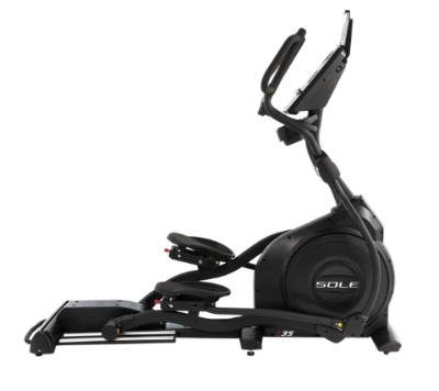 The Sole Fitness E35 Elliptical Trainer is not portable.