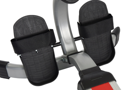 The Stamina Body Trac Pro Glider features oversized pedals.