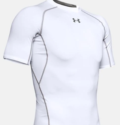 The Under Armour Heatgear shirt comes in several colors.