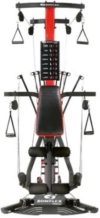 The Bowflex PR3000 is a compact multi-gym with over 50 exercises.
