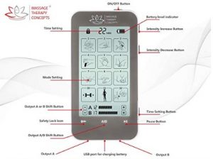 Massage Therapy Concepts Tens Unit