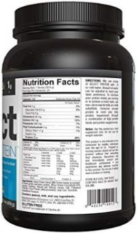 PEscience Nutrition Facts