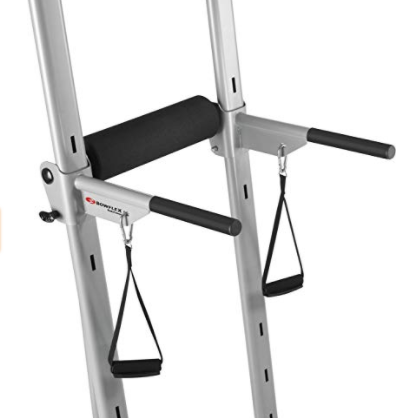 The Bowflex Body Tower features adjustable lower handles.