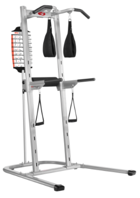The Bowflex Body Towewr gives you about 20 different strength exercises.