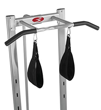 The Bowflex Body Tower sling straps enhance your pull ups.