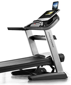 The ProForm 9000 treadmill has a 10 inch HD touch screen.