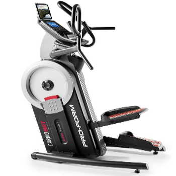Proform Cardio HIIT trainer has oversized pedals