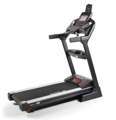 The Sole F80 treadmill has some high end features.