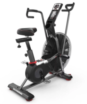 The Schwinn Airdyne Pro has a full featured LCD console.