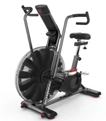 The Schwinn Airdyne Pro offers bulit in and customizable workouts.