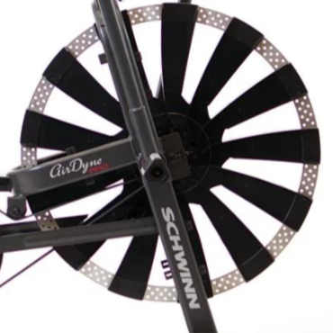 The Schwinn Airdyne Pro uses fan powered resistance.