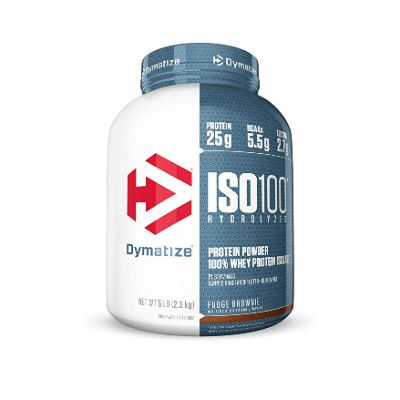 Dymatize ISO100 low carb protein powder