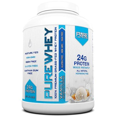 Pure Label Nutrition Grass Fed Whey Protein