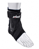 The Zamst brace protects against over and under pronation.