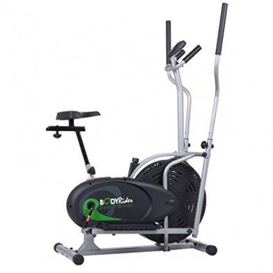 The Body Rider Deluxe Dual Flywheel Trainer has a computer.