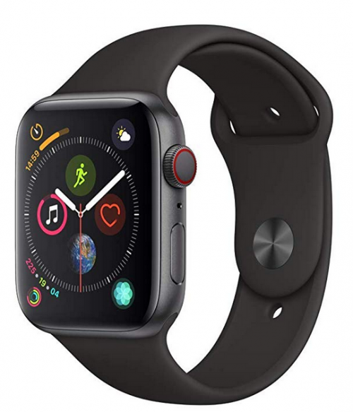 image of apple watch series 4 - heart rate tracker with all smartphone features