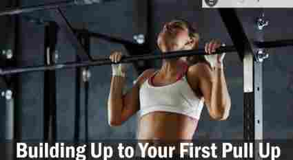 Building Up to Your First Pull Up