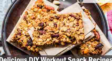13 Delicious DIY Workout Snack Recipes 2019