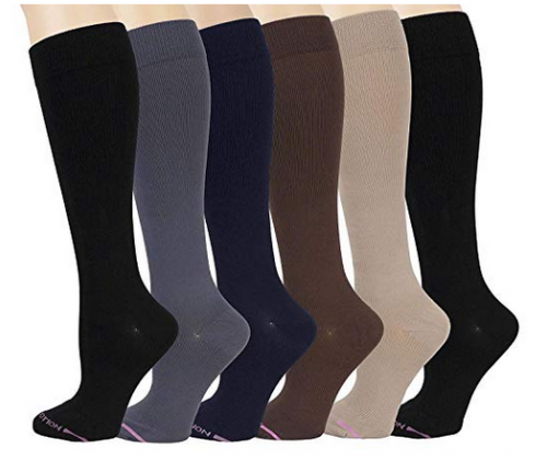 Ladies 6 compression socks by Doctor Motion