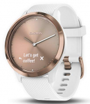 image of garmin vivomove hr smartwatch with heart monitoring system