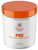 image of Genius All Natural energy-enhancing pre-workout supplement
