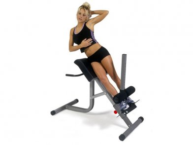 3 Roman Chair Workouts For a Sexy Stomach and Toned Glutes