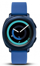 image of samsung gear sport smartwatch with heart rate monitor